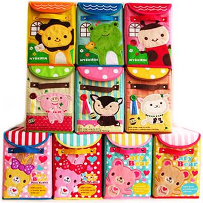japanese style Baby cartoon toy animal storage box embroidery storage box Small box(China (Mainland))