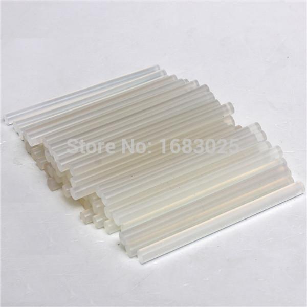 Lowest Price 50 Pcs 7mmx100mm Clear Glue Adhesive Sticks For Hot Melt Glue sticks for Glue