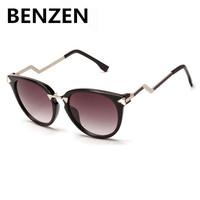 2015 Women Sunglasses UV 400 Arrow Cat Eye Female Sun Glasses  Women Shades  Oculos De Sol Feminino  Gafas De Sol With Case 6068