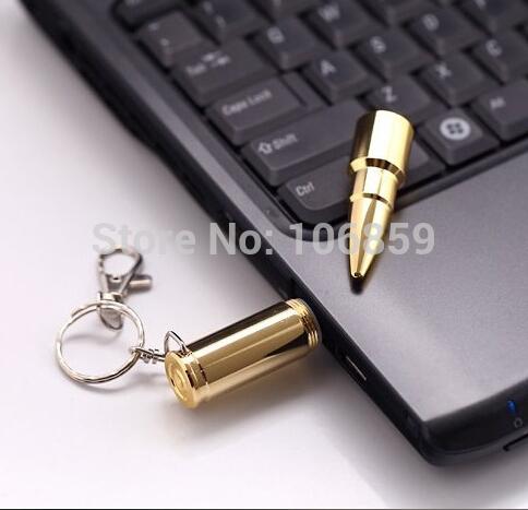 Wholesale /Retail Bullet USB Flash drive 16gb 8GB , 4GB usb pen drive 100% Real capacity Free shipping 50pcs/lot(China (Mainland))