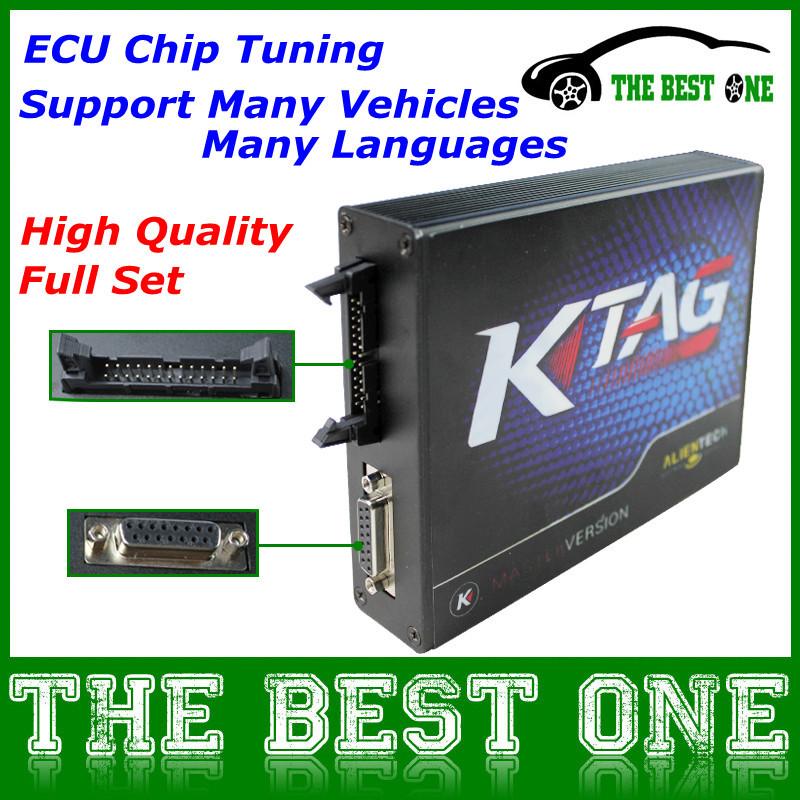 DHL Free&Fast Professional Programmer Ktag K-tag ECU Programming Tool No Checksum Error K Tag 2015 Latest Master Version V2.06(China (Mainland))