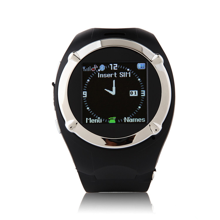 ZGPAX MQ998 1.5 inch Wrist Touch Screen Quad-bands GSM Watch Cell Phone Bluetooth FM Video Camera Games Smart watch phone(China (Mainland))