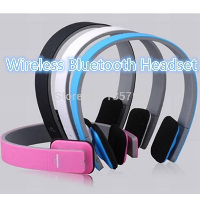 AEC BQ618 wireless bluetooth wired headband sports headset headphone micro microphone 3.5mm AUX play music stereo HIFI(China (Mainland))
