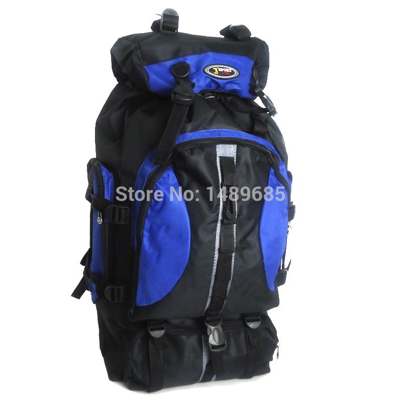 Outdoor sport travel backpack mountain backpacks climb knapsack camping hiking backpack 50L packsack free shipping(China (Mainland))
