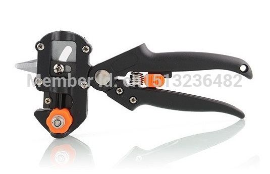2015 hot Fruit Tree Professional Pruning Shears Grafting cutting Tool With 2 Extra Blades Free shipping-G004(China (Mainland))