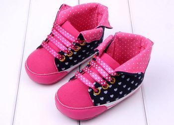 Детские кроссовки мягкое дно девочка малыша без скольжения обувь