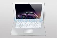 Android Netbook/Slim laptop netbook 13.3 Inch 8GB ROM 1GB RAM Dual Core 1.5GHz mini netbook Webcam HDMI RJ45 USB Wifi Bluetooth