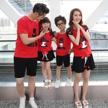 Семья одежда комплект T — рубашка + платье 2 шт. одежда для матери и дочери одежда комплект для отца и сына семья комплект, Km85