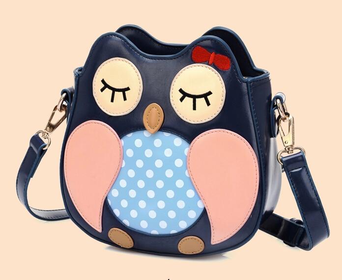 2015 little owl fashion crossbody bags for women messenger bags lady bolsa feminina shoulder bags bolsos mujer desigual cute bag(China (Mainland))