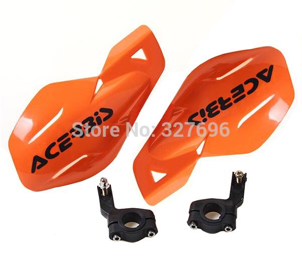 "2015 ACERBIS PP Plastic 7/8"" 22mm Handlebar Guard Motorcycle Hand guards for Dirt Bike Pit bike ATV Quads Free Shipping(China (Mainland))"
