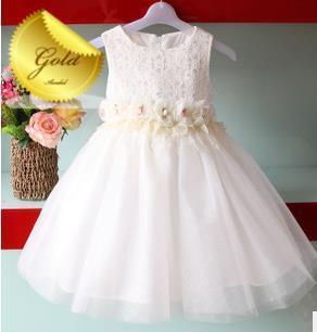 2015 new arrival hot sale high quality Children girls dress Eugen Lufthansa princess dress children dress wedding baby dress(China (Mainland))
