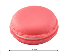 PY002 2pcs lot jewelry Holder Candy Color Mini Macaron Gift Box Jewelry Ring Carrying Case Sundries