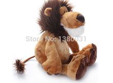 "25CM OR 10""  NICI  Lion Stuffed Doll Plush Jungle Series Animal TOYS  Birthday gifts FREE SHIPPING   a005(China (Mainland))"