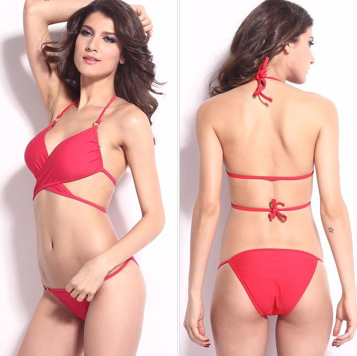 Fashion Show 2015 Summer Women Bikini Fashion Push Up Bikini