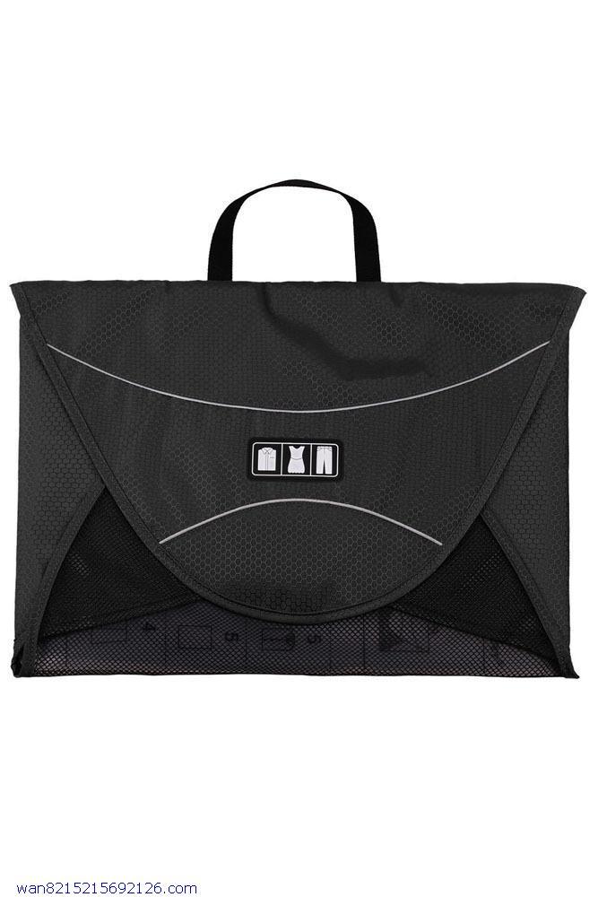 Shirt Packing Folder Tote Green Travel Organizer Bags LC74033(China (Mainland))
