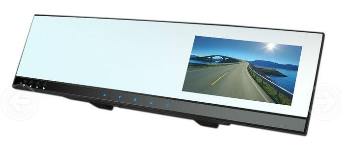 "Top Grade 4.3""TFT HD car DVR rearview mirror camera record G-sensor wireless backside camera for reverse(China (Mainland))"