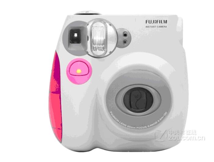 2015 Fuji Photo Fuji mini7s speaking immediately kissing pink suit imaging camera film camera LOMO camera metallic pink(China (Mainland))