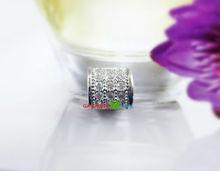 new fashion women girls DIY jewelry austrian zircon crystal charm beads fit european pandora style bracelets