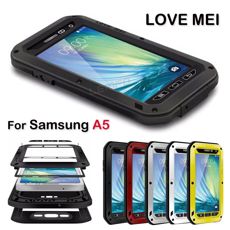 Чехол для для мобильных телефонов LOVE MEI Samsung A5 /Dropp For Samsung Galaxy A5 чехол для для мобильных телефонов love mei 20 samsung 4 n9100 n910 for samsung galaxy note 4 n9100 n910