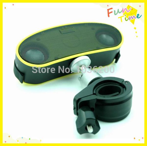 2013 new product bike accessary bluetooth speaker with Mic for driver to take the free phone call,b6 waterproof bike speaker(China (Mainland))
