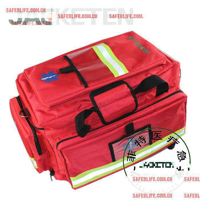 Large Thickened Water Resistant Medical First-aid Bag nylon Fire Emergency Package Geological Disaster Rescue ambulance bag(China (Mainland))