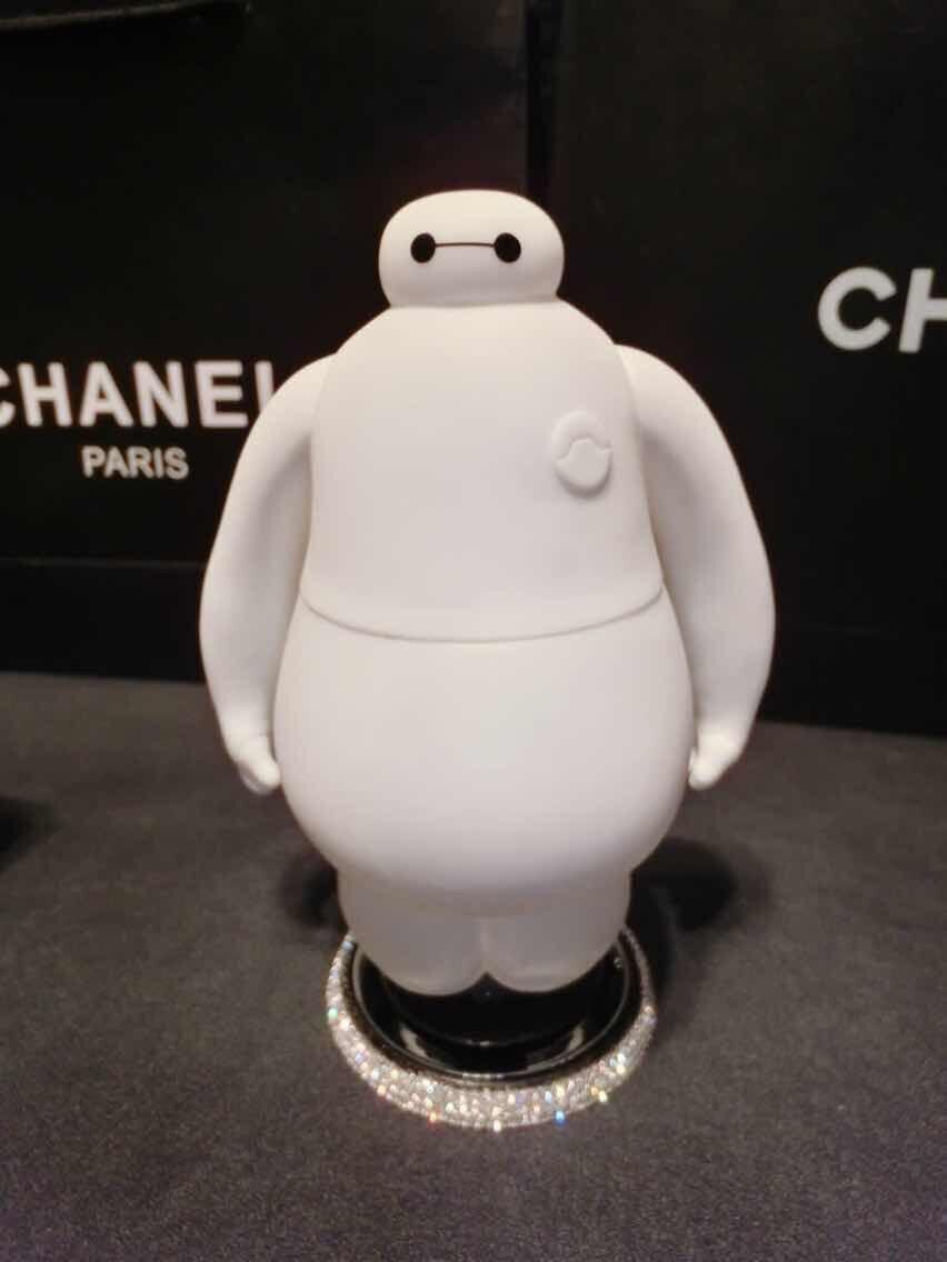 fashion 2015 cartoon big hero baymax car air freshener white perfumes and fragrances of brand originals car accessories(China (Mainland))