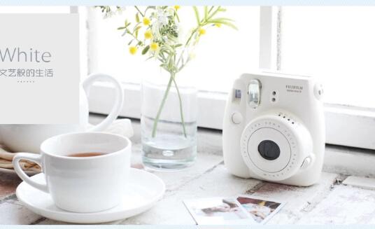 Fuji mini8 white lomo camera kit stand looks an imaging film(China (Mainland))