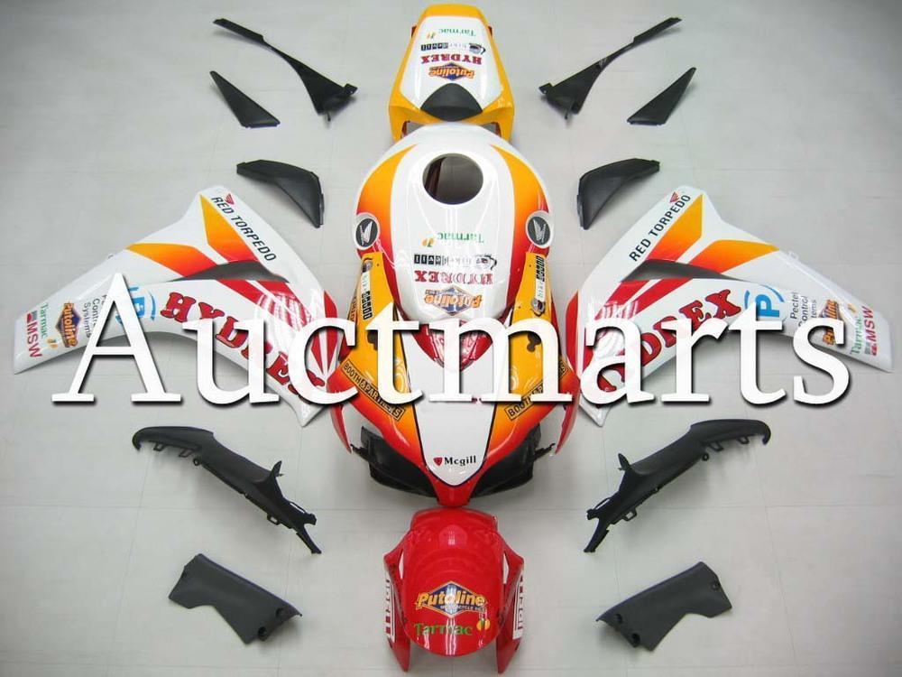 For Honda CBR 1000RR 2008 2009 2010 2011 CBR 1000 RR ABS Plastic motorcycle Fairing Kit Bodywork CBR1000RR 08 09 10 11 CB21(China (Mainland))