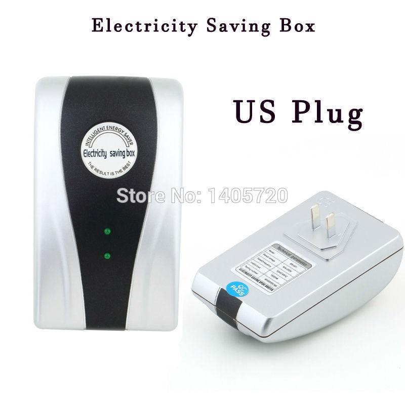 SD-001 90v-250v 18Kw Power Electricity Energy Sliver Electricity Saving Box Energy Electric Power Saver US Plug Free Shipping(China (Mainland))