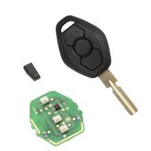 Chiave a distanza 3 pulsante per bmw 3 5 serie 7 e38 e39 e46 w/chip 315 mhz/433 mhz hu58  (China (Mainland))