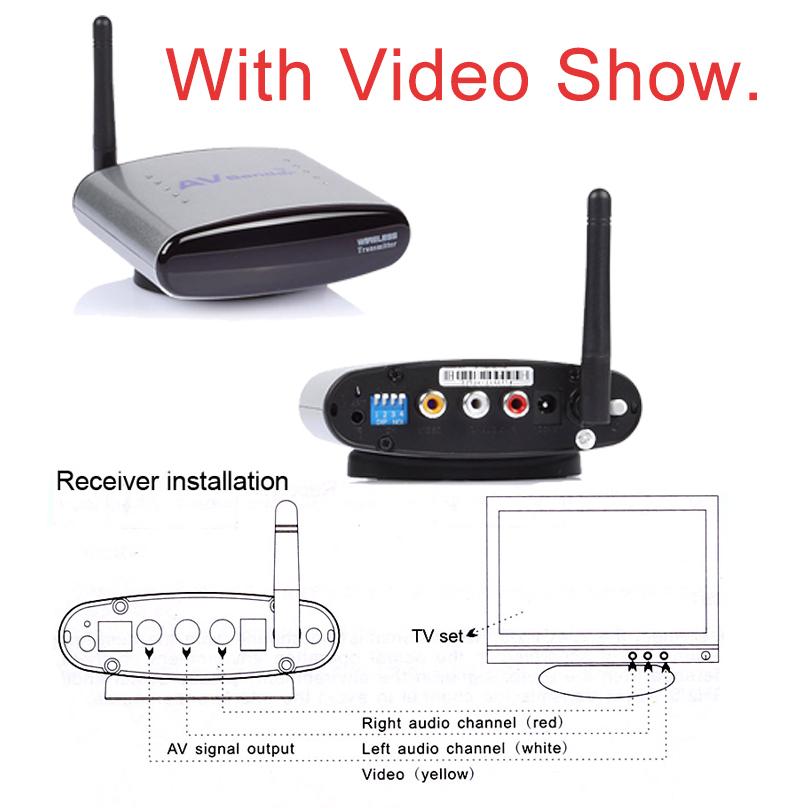 HD!! PAT-330 2.4GHz Wireless AV TV Audio Video Sender HDMI Transmitter Receiver for DVD DVR STB IPTV 150m free shipping Brazil(China (Mainland))