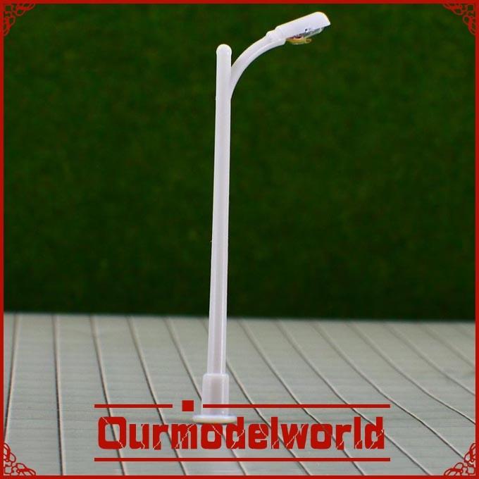 free shipping 20PCS Scale Train Layout Model Lampposts illuminating Lamp RA150(China (Mainland))