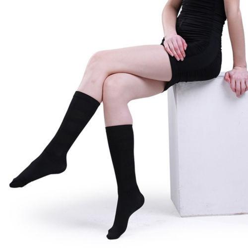 Мода для похудения черный чудо носки форма ноги хлопка мягкие носки бесплатная доставка