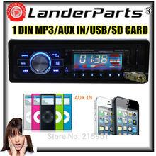 Car radio Stereo MP3 Player 1 Din In Dash FM radio USB Remote Control USB port