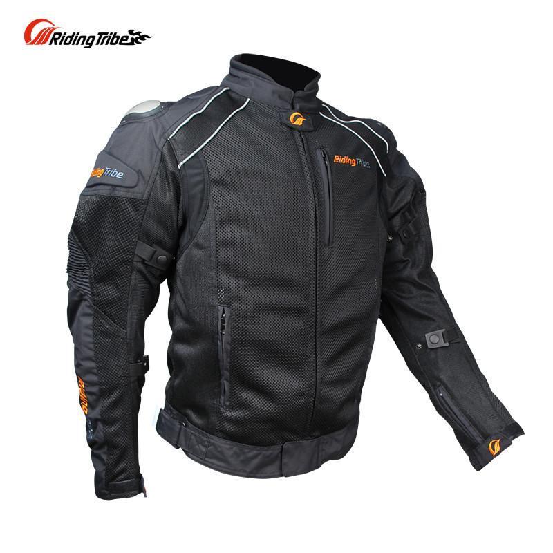 PRO-BIKER Men's Motorcycle Motocross Racing Jaqueta Titanium Shoulder Protector Breathable Nylon Mesh Cloth Jacket Clothing(China (Mainland))