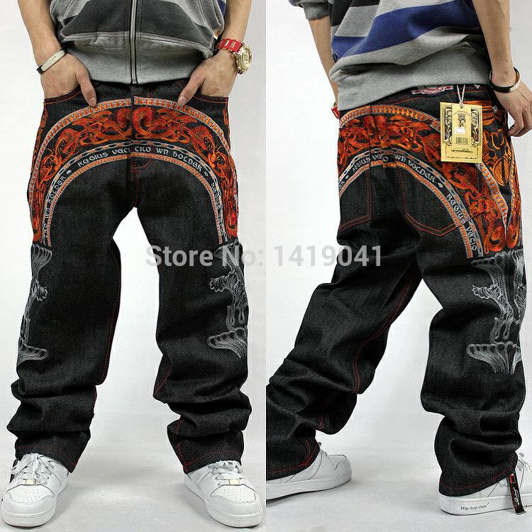 2015 latest design new brand men jeans big size men baggy jeans pants for men denim men jeans big size 30-42(China (Mainland))