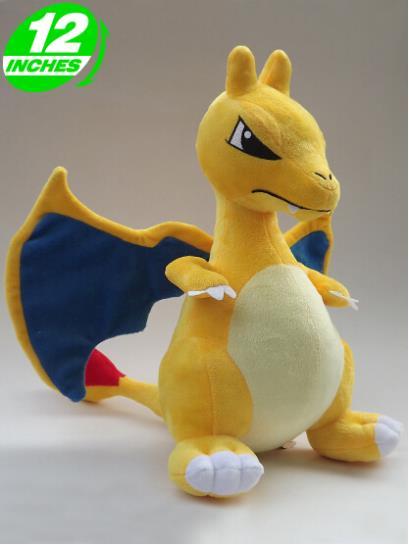 Pokemon firedragon plush stuffed animal toy(China (Mainland))