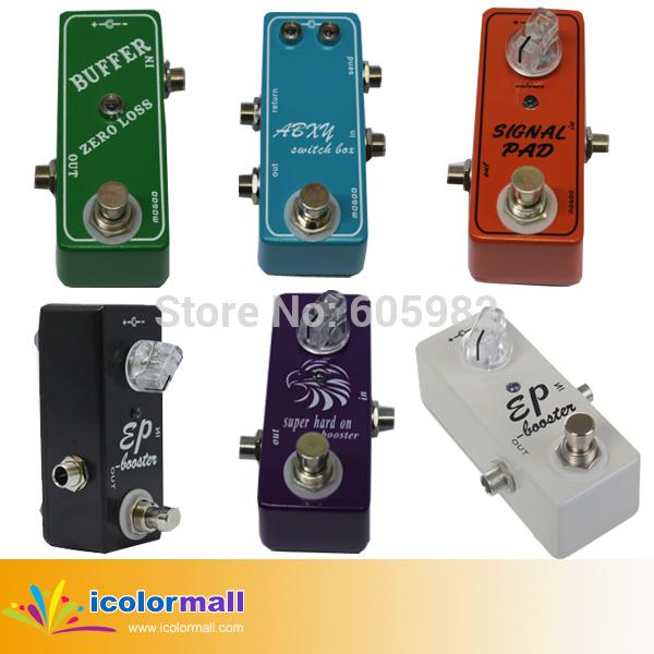 Any One Guitar Effect Pedal Mini Clean Booster Switcher Box Mini Buffer Zero Loss Signal Passive Attenuator(China (Mainland))