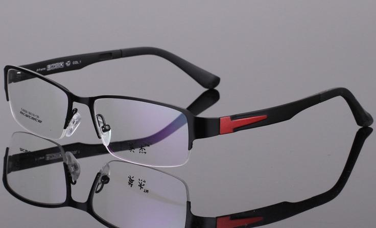 Retail 2015 New Fashion metal Men Women Eyeglasses Frames acetate Frame Reading Glasses Frames Optical Eyewear Frames(China (Mainland))