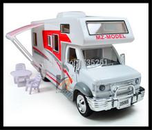 1:28 car model Ford E450 Luxury motor home model furniture assemble(China (Mainland))