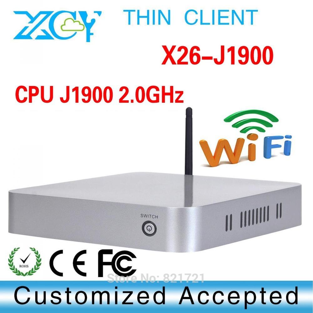 1*RTL8111E LAN Medical Center PC Linux Media Center PC tiny computer J1900 Intel PC(China (Mainland))