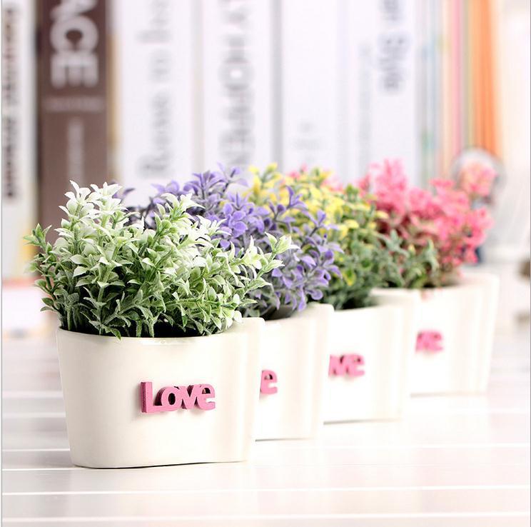 new wedding decorations decorative flowers ceramics vase artificial flowers cheap silk flowers paper flowers home decoration 11(China (Mainland))