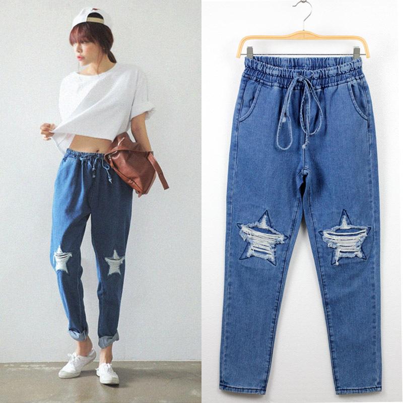 Creative Com  Buy Fashion Printed Ice Silk Harem Pants Women39s Smooth Loose