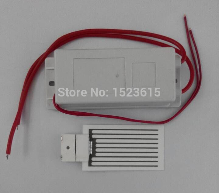 2015 latest AC220V/AC110 3.5g Ceramic Plate Ozone Generator For Air Or Water Treatment Air Cleaner(China (Mainland))