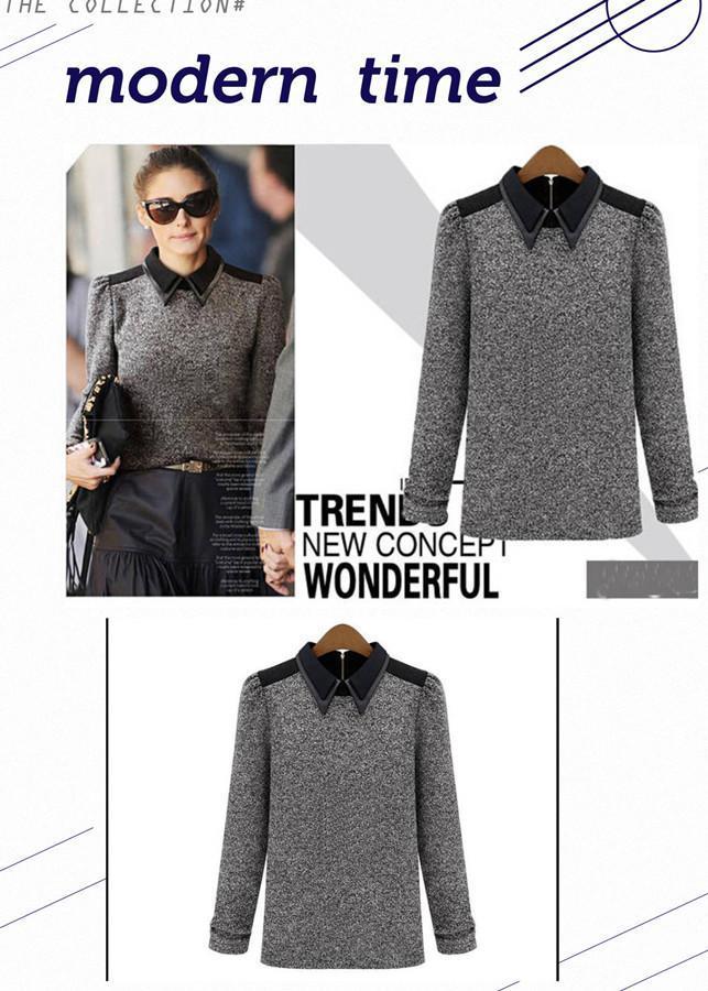 Женский пуловер LC-4469