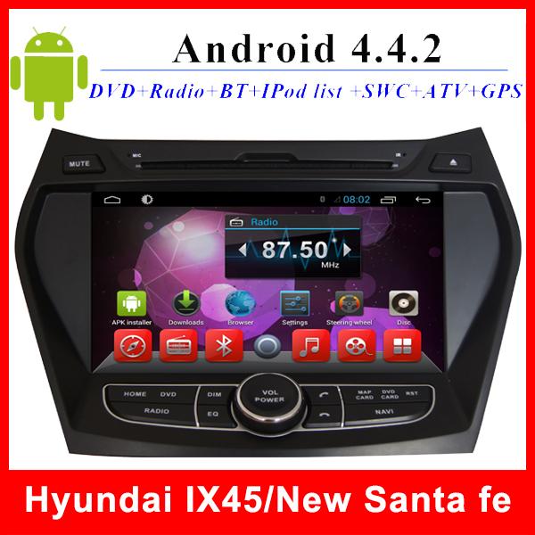 Автомобильный DVD плеер LG Hyundai ix45 GPS TV 3G WIFI BT AUX 2 din 8 автомобильный dvd плеер topmall 2 din dvd gps bluetooth 3g