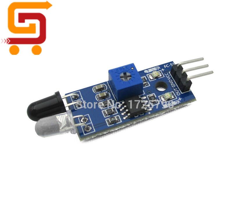 Smart Car Robot ir Infrared Obstacle Avoidance Sensor Module Reflective Photoelectric Sensor for arduino(China (Mainland))