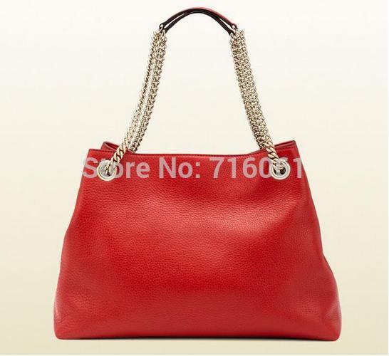 2015 famous designers brand shoulder bag cowhide genuine leather wristlet handbag top quality women handbags 308982(China (Mainland))