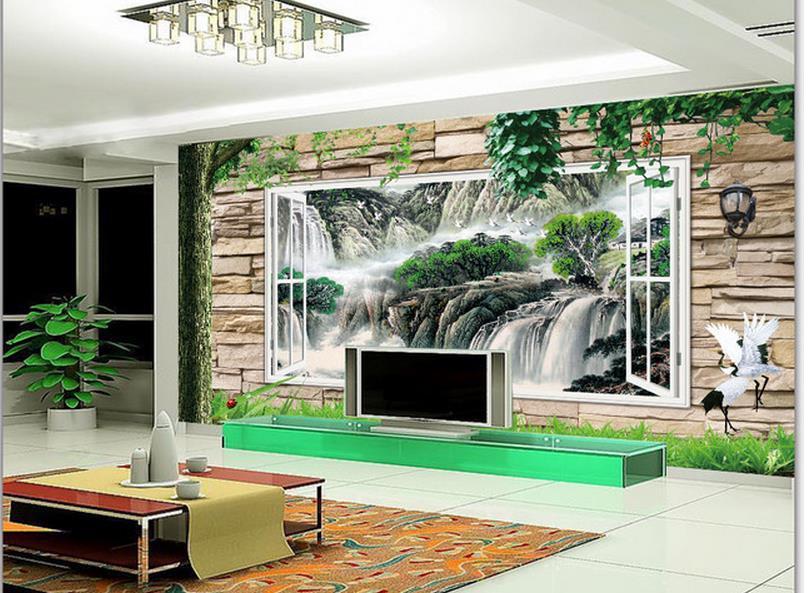 Achetez en gros fen tre mur int rieur en ligne des for Cascade murale interieur