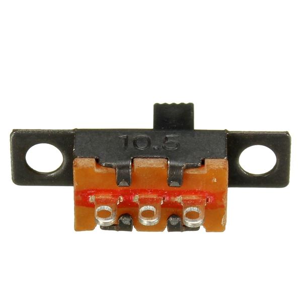 New Arrival 20PCS Black Mini Size SPDT Slide Switches On Off PCB 5V 0 3A DIY